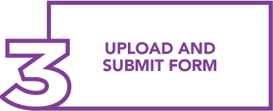 Step 3: Upload and submit form